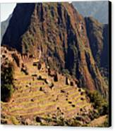 The Ruins Of Machu Picchu, Peru, Latin America Canvas Print