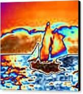 The Sail Canvas Print