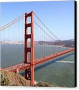 The San Francisco Golden Gate Bridge 7d14507 Canvas Print