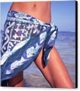 The Sarong Canvas Print