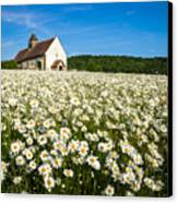 The Saxon Church Canvas Print by Trevor Wintle