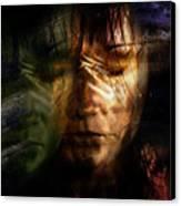 The Schizophrenia Canvas Print