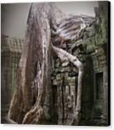 The Secrets Of Angkor Canvas Print by Eena Bo