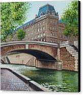 The Seine Canvas Print
