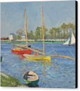 The Seine At Argenteuil Canvas Print