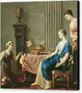 The Seller Of Loves Canvas Print