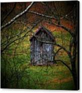 The Shed Canvas Print by Michael L Kimble