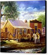 The Sheriffs Posse  Canvas Print
