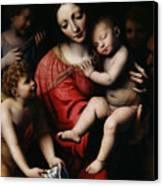 The Sleeping Christ Canvas Print by Bernardino Luini