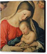 The Sleeping Christ Child Canvas Print by Il Sassoferrato