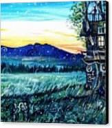 The Sleepover Canvas Print by Shana Rowe Jackson