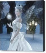 The Snow Fairy Canvas Print by Melissa Krauss
