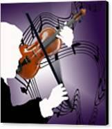 The Soloist Canvas Print by Steve Karol