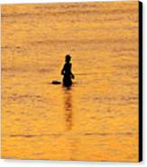 The Son Of A Fisherman Canvas Print by David Lee Thompson