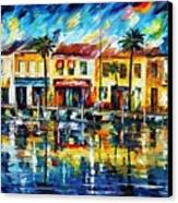 The Spirit Of Miami  Canvas Print by Leonid Afremov