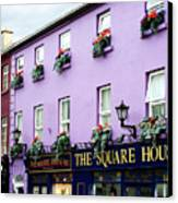 The Square House  Athlone Ireland Canvas Print