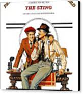 The Sting, The, Robert Redford, Paul Canvas Print