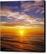 The Sun Says Goodnight Canvas Print