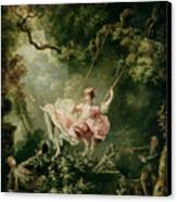 The Swing  Canvas Print by Jean-Honore Fragonard