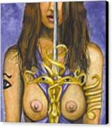 The Sword Of Magic Canvas Print