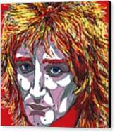 The Tartan Of Rod Stewart Canvas Print