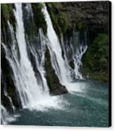 The Tranquility Of Waterfalls Canvas Print