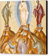 The Transfiguration Of Christ Canvas Print by Julia Bridget Hayes