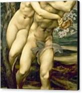 The Tree Of Forgiveness Canvas Print by Sir Edward Burne-Jones