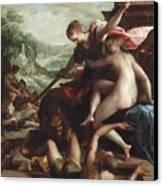 The Triumph Of Truth Canvas Print by Johann or Hans von Aachen