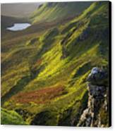 The Trotternish Hills From The Quiraing Isle Of Skye Canvas Print