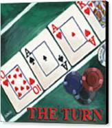 The Turn Canvas Print by Debbie DeWitt
