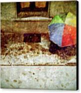 The Umbrella Canvas Print by Silvia Ganora