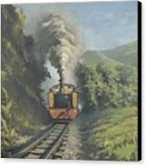 The Vale Of Rheidol Railway Canvas Print