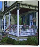 The Victorian Porch Canvas Print