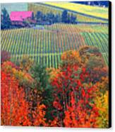 The View From Red Ridge Canvas Print
