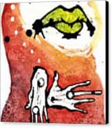 The Voice Canvas Print by Mark M  Mellon