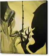 The Wand Of Destiny Canvas Print by Lisa Leeman