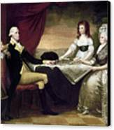 The Washington Family Canvas Print