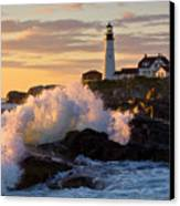 The Wave Canvas Print by Benjamin Williamson
