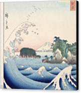 The Wave Canvas Print by Hiroshige