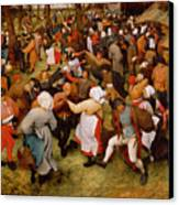 The Wedding Dance Canvas Print by Pieter the Elder Bruegel
