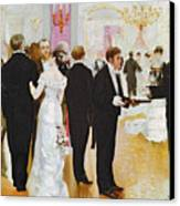 The Wedding Reception Canvas Print