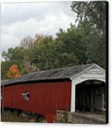 The West Union Covered Bridge Canvas Print