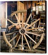 The Wheelwright's Shop Canvas Print