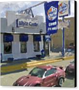 The White Castle Canvas Print