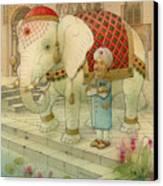 The White Elephant 05 Canvas Print