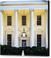 The White House Canvas Print by John Greim