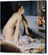 The White Slave Canvas Print by Jean Jules Antoine Lecomte du Nouy