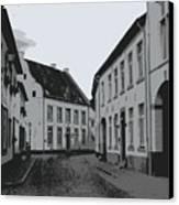 The White Village - Digital Canvas Print
