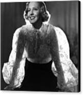 The Whole Towns Talking, Jean Arthur Canvas Print by Everett